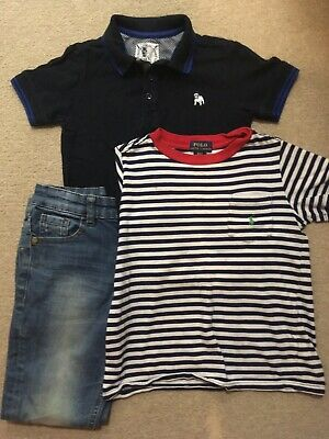 Boys Clothes Bundle Age 5 to 6 Years Polo Ralph Lauren T shirt