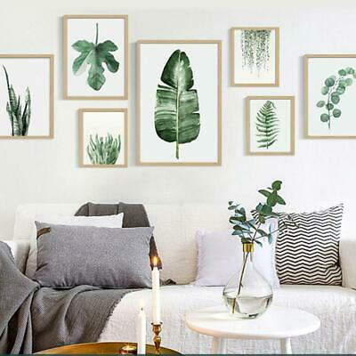 Modern Canvas Plant Painting Frameless Painting Living Room Wall Art GDY7 01