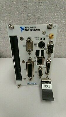 NI National Instruments PXI-8176 Embedded Controller Used