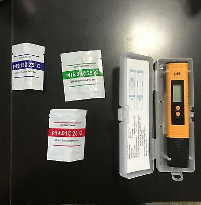 Digital Ph Meter Tester 0.01 PH Accuracy Water Quality Tester with ATC 0-14