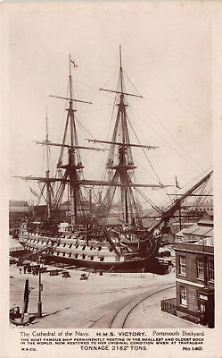R241270 The Cathedral of the Navy. H. M. S. Victory Portsmouth Dockyard. No. 140