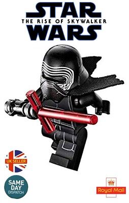 Kylo Ren Mini Figure Star Wars Rise Of The Skywalker Darth Sith Red UK Seller