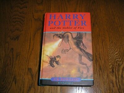 Harry Potter and the Goblet of Fire-JK Rowling Hardback book 1st edition