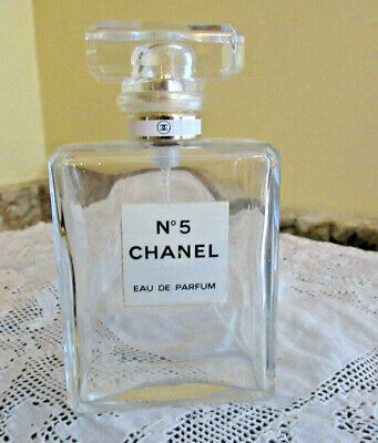 CHANEL No 5 Eau De Parfum 3.4 oz 100ml EMPTY Spray Bottle Made in France