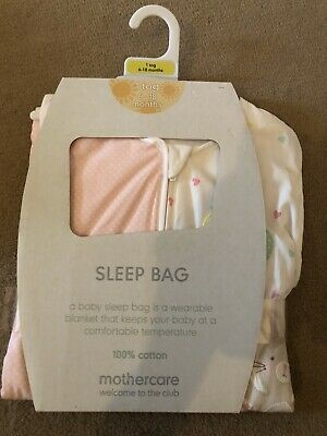 BRAND NEW Baby Summer Sleeping Bag 6-18 Months 1 Tog Mothercare Confetti Party