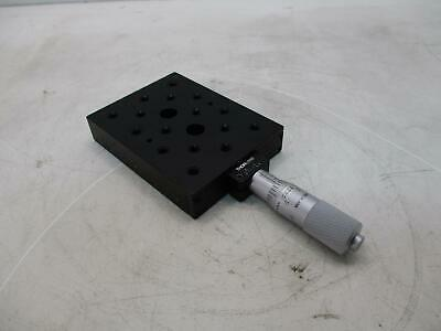 Thor Labs Linear Stage W/ .001 Mitutoyo Micrometer