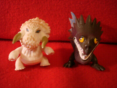 2 How to Train Your Dragon Action PVC Figures DreamWorks 2013 DWA LLC