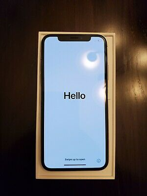Apple iPhone X - 64GB - Silver A1865 Global GSM/CDMA UNLOCKED