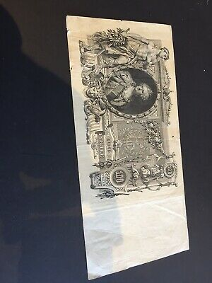 Russian 1910 X 100 Rubles Banknote  Catherine Empress