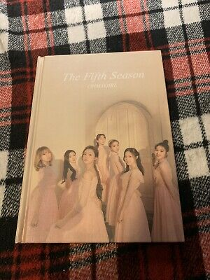 (Opened/No Pc) Oh My Girl The Fifth Season Album Photography Ver (Read Desc)