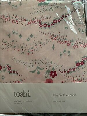 Toshi Baby Cot Fitted Sheet