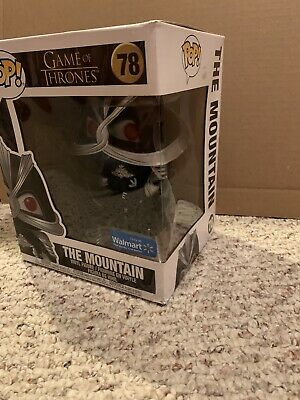 Funko Pop The Mountain 78 Game Of Thrones 6 In Walmart Damaged Box Free Shipping