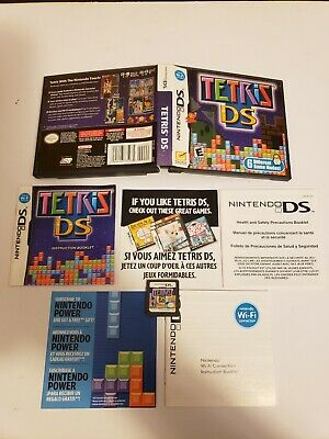 Tetris DS (Nintendo DS, 2006) 100% COMPLETE CIB Authentic TESTED