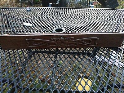 Singer Sewing Machine Cabinet  Front Center Drawer with hinge sides