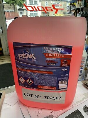 CONCENTRATED RED ANTIFREEZE LONGLIFE (5yr) ANTIFREEZE - 20 LITRE 20L OAT