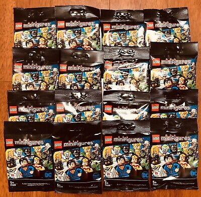 Lego 71026 Minifigures DC Super Heroes Complete Set Of 16 New Sealed Bags