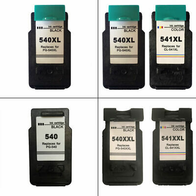 Refilled PG540 CL541 XL XXL Ink Cartridges For Canon PIXMA MG3650 Printer