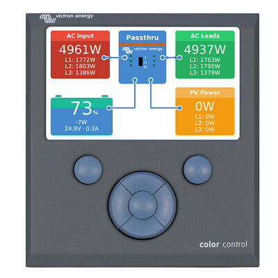 Victron Energy Bpp010300100R Color Control Gx System Controller