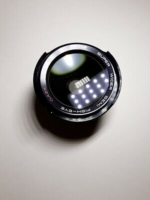 Zykkor Super Wide Angle Lens Super Wider Semi- Fish Eye 52mm .42x No.1100