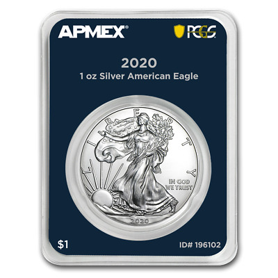 2020 Silver American Eagle PCGS MD First Strike - lot of 20 - PRESALE