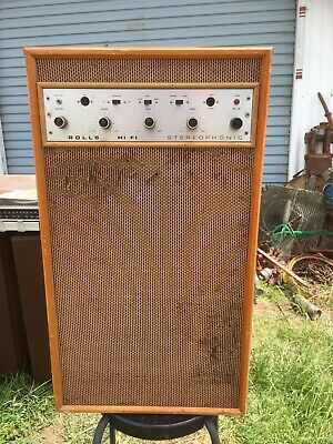 Vintage Rolls Stereophonic Hifi Valve Amplifier