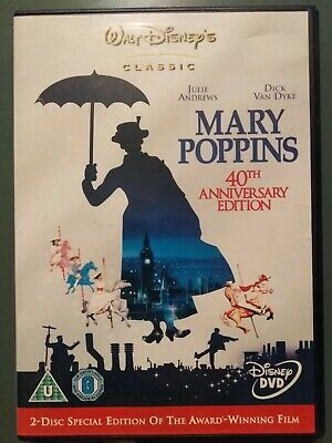 Mary poppins 40th anniversary 2 disc special edition DVD