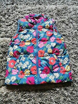 Cath Kidston Girls Age 7-8 Years Floral Gillet Body Warmer