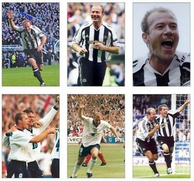 Alan Shearer Newcastle United Legend POSTCARD Set