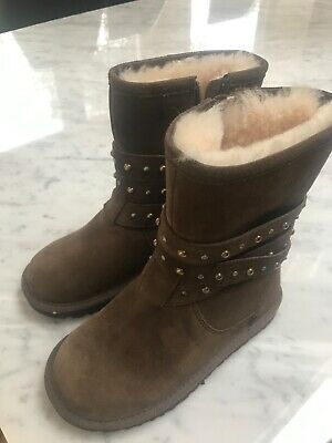 Kids brown Ugg boots - size 13 (30) mid high Brand New GENUINE UGGS