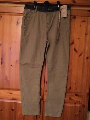 boys twisted fit trousers, age 13/14, new from F&F, new with tags