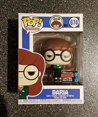 Funko Pop SOLD OUT! Daria 2019 Fall Convention Exclusive Figure #674 MSRP $35!!!