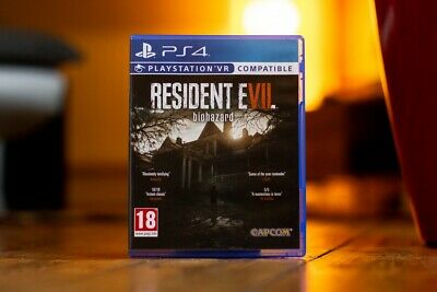 Resident Evil 7 Biohazard PS4 Game, Pre Owned Immaculate Condition Free Postage