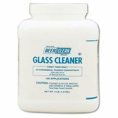 Diversey Beer Clean Glass Cleaner, Unscented, Powder, 4 Lb. Container 990201 NEW