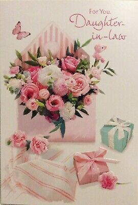 To A Special Daughter In Law Shoes /& Roses Design Modern Happy Birthday Card