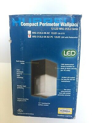 Hubbell Outdoor Lighting LED Compact WallPack -  Bronze