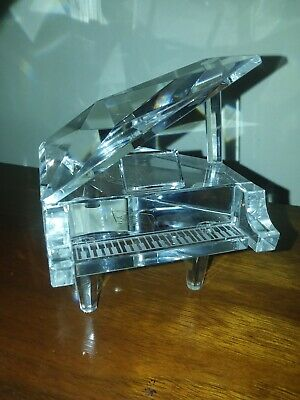 Shannon Crystal Grand Piano - Designs Of Ireland - Hand Made - Original Box