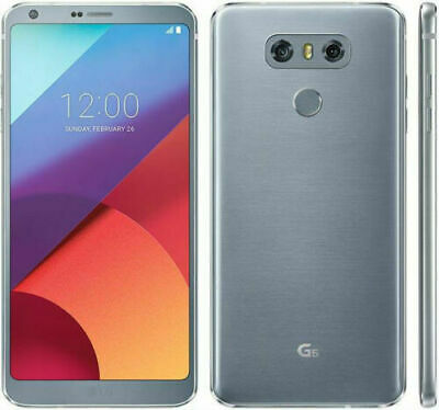 UNLOCKED T-Mobile LG G6 H872 32GB Android Silver 4G LTE Smart Video Cell Phone