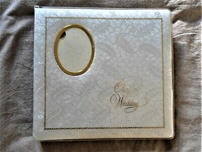 DF 927 Wedding Album with fabric covering on wooden cover (see details&photoes