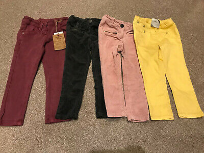 Next Trouser Jeans Bundle New And used Girls Age 2-3 and 3 Years