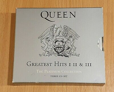 Queen - Platinum Collection: Greatest Hits (CD, 2002, 3 Discs, Hollywood Record…