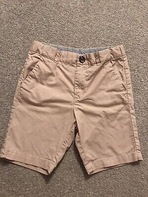 Boys Beige Chino Shorts Age 4/5 From H&m