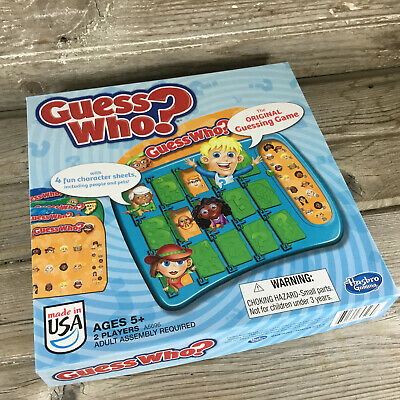 Hasbro Guess Who? The Original Guessing Game Ages 5+ Pre-Owned