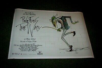 Pink Floyd The Wall Alan Parker 1982 promo  movie POSTER