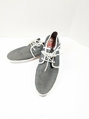 Mens Base London Fish N Chips RISSOLE Lace Up Casual Summer Sneaker Shoes Size