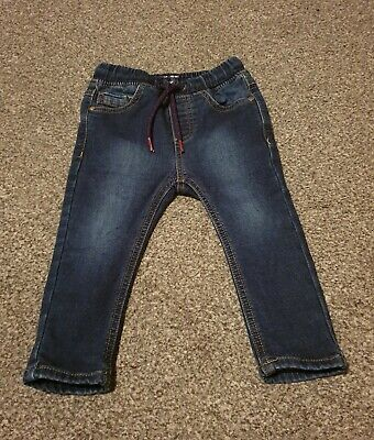 Next Baby Boys Jeans 12-18 Months Excellent Condition WORN TWICE