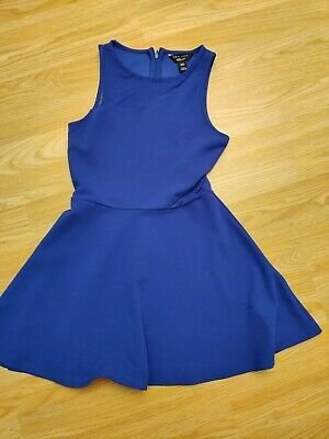 Lovely Girls New Look 915 Blue Party Dress Age 9 Years