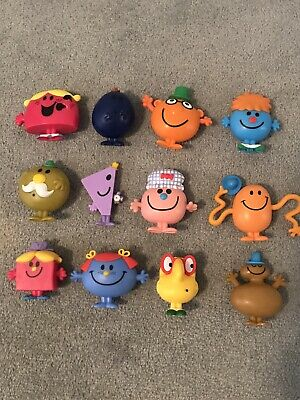 McDonalds Mr Men Little Miss Happy Meal Toys X12 Collectible 2019