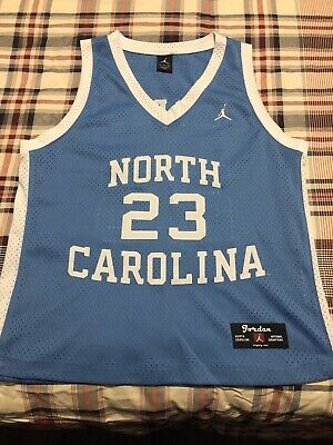 Michael Jordan UNC North Carolina Jersey JORDAN Retro Vintage Blue NCAA - MED