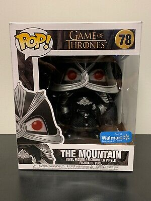 Funko Pop! Game of Thrones 6 Inch The Mountain #78 Masked Walmart Exclusive!