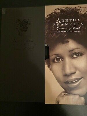 Aretha Franklin (Queen Of Soul, The Atlantic Recordings) Booklet, 4 Cd Box Set